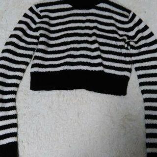 MURUA 丈短Mサイズセーター
