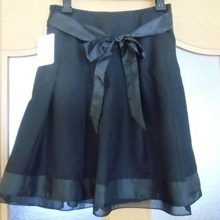 ブラックウォッチ スカート黒✥新品・タグ付き