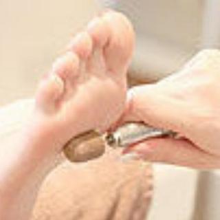 激安!足裏の角質除去