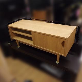 AVボード/テレビボード 北欧 オーク材 120cm 札幌 西岡発