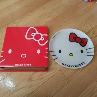 キティちゃん皿 未使用品