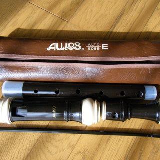 AULOS アルトリコーダー 509B(中古)笛