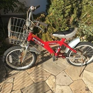 18インチの子供用の自転車あげます