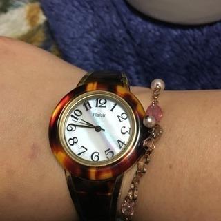 べっ甲バングル腕時計☆