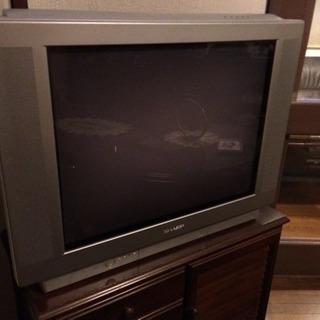 29型ブラウン管テレビです(汚れ有)