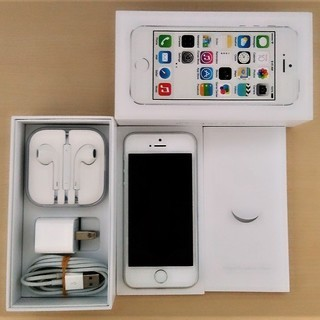 iPhone5s☆16GB☆SoftBank☆美品☆シルバ…