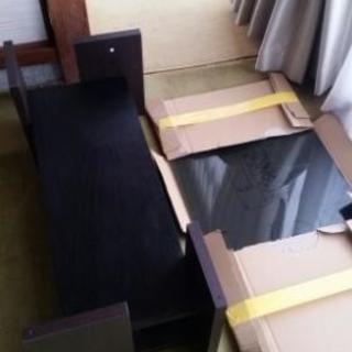 ダークブラウンローテーブル。半年間使用!美品