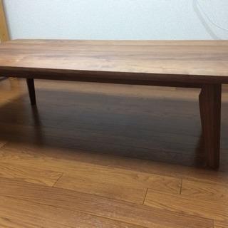 無垢のセンターテーブル(送料込み)