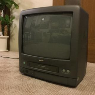SANYO テレビデオ 差し上げます。
