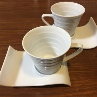 コーヒーカップととソーサーのセット