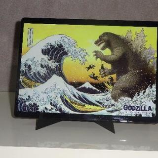 ゴジラのマウスパッドの画像