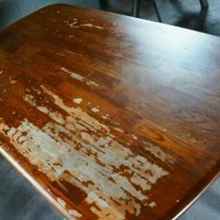 ジャンク ダイニングテーブル