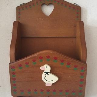 木製 レターボックス