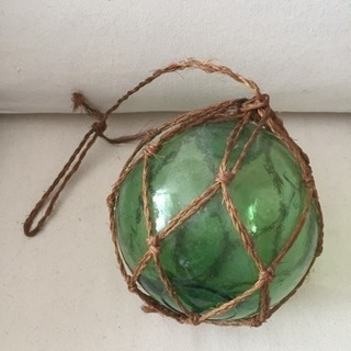 アンティーク ガラスの浮き玉