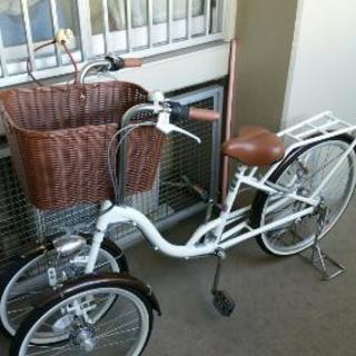 Bambina バンビーナ バスケット付三輪自転車 MG-CH24...