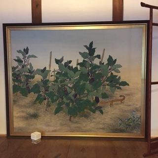 大きな絵画(日本画)