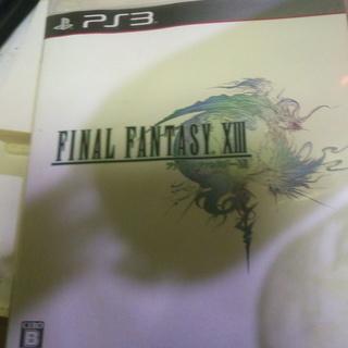 【中古良品】PS3 ファイナルファンタジー13 FF
