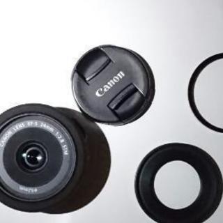 商談中【値下げ!】【Canon】【パンケーキレンズ】EF-S 24mm f/2.8 STM 【レンズ】 - 千葉市