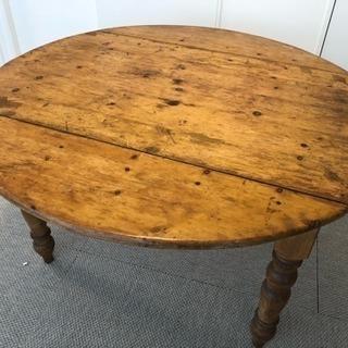 オールドパインのダイニングテーブル
