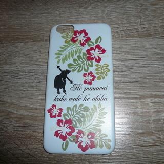 iphone6plusカバー(ハワイアン)