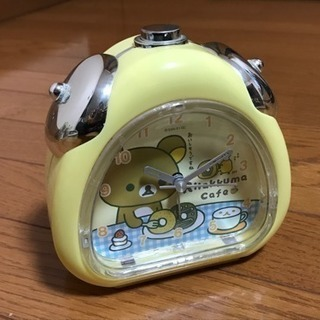 リラックマ目覚し時計