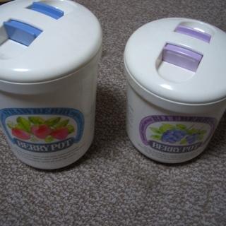 プラスチック容器(未使用品)