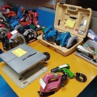 電動工具、大量入荷 日曜大工 大売り出しします。たくさんいろいろあ...
