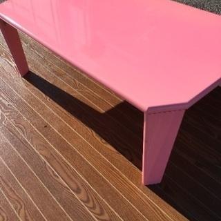 お値段以上⤴︎ニトリ❤️ と同タイプ ピアノ調折り畳みテーブル ...
