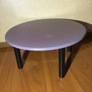 ♪ちゃぶ台・ローテーブル・赤色系♪