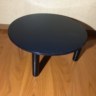 ♪ちゃぶ台・ローテーブル・ブラック系♪