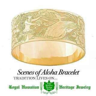 Scenes of Aloha Bracelet  オーダー・修...