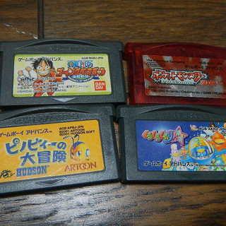 ゲームボーイアドバンス カセット 4本セット