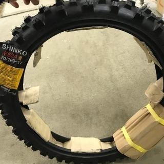 SHINKOタイヤF524 70/100-17 オフロードタイヤ