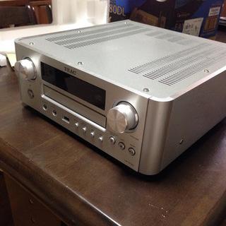TEAC AirPlay対応CDレシーバ CR-H700 FM、...