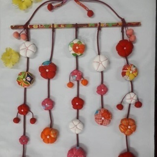 ひなまつり ももの花 吊るし飾り