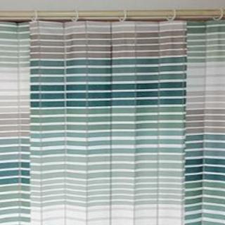 ナフコ カーテン2枚(既成サイズ 各178×100用)