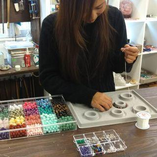 あなたにあった天然石・宝石ブレスレットを作ろう! 作りたい…