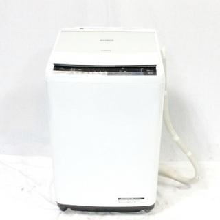 洗濯機 BW-V80A-W ホワイト ビートウォッシュ 8.0k...