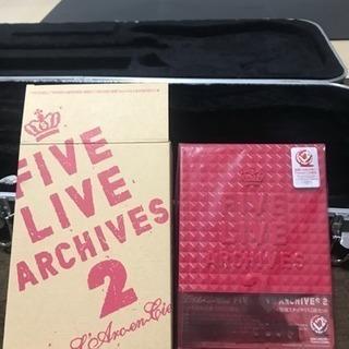 FIVE LIVE ARCHIVES2   L'Arc〜en〜Ci...