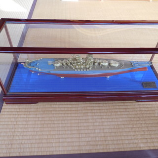 KONISHI製 戦艦【大 和 ・ 武 蔵】  完成品 1/50...