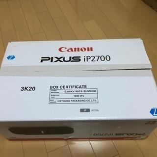 キャノン  プリンター  IP2700