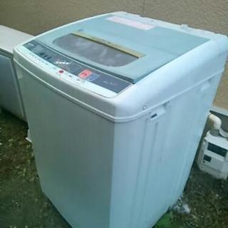 【ジャンク品】大型洗濯機