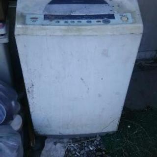 ジャンク洗濯機