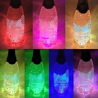 ✨ LED彫刻名前入りボトルプロフ必見‼︎✨ オーダーメイド