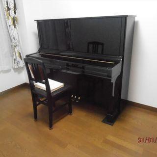 防音室をお貸しします、YAMAHA竪型ピアノ有り。時間自由。