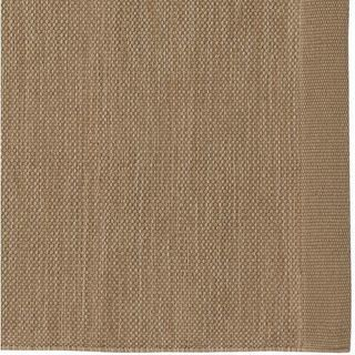無印良品 オーガニックコットン手織ラグ ベージュ 200×200cm - 江東区