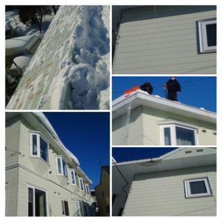 除雪 排雪 屋根の雪降ろし 札幌市便利屋タクミ