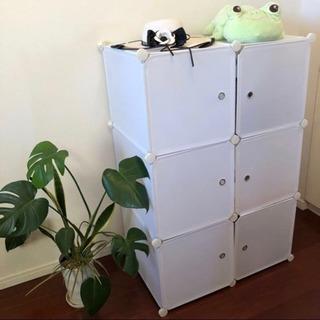 組立て式クローゼット収納ボックス