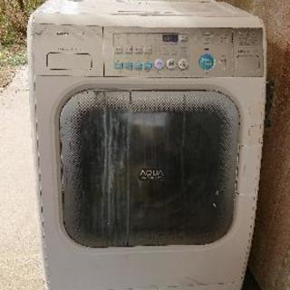 ジャンクサンヨードラム式洗濯機。シモディーキャンペーンを見て投稿...