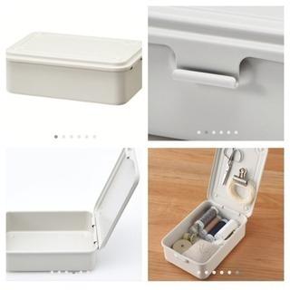 ほぼ未使用 無印良品 スチール工具箱 まとめ売り - 家具